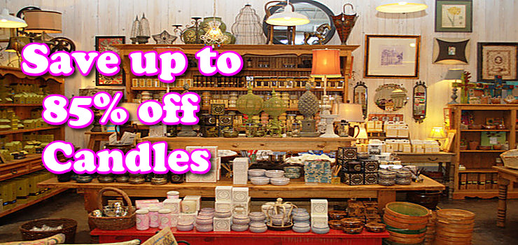 Candle shops online for Candele on line